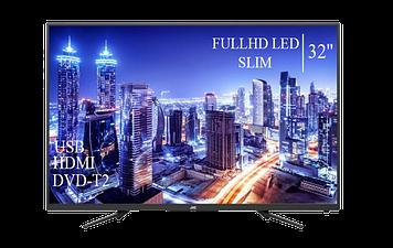 """Телевізор JVC 32"""" FullHD DVB-T2 USB Гарантія 1 РІК!"""