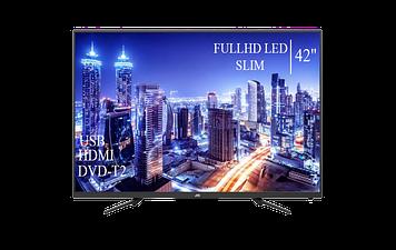 """Телевізор JVC 42"""" FullHD DVB-T2 USB Гарантія 1 РІК!"""