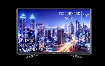 "Телевізор JVC 45"" Smart-TV FullHD T2 USB Гарантія 1 РІК"