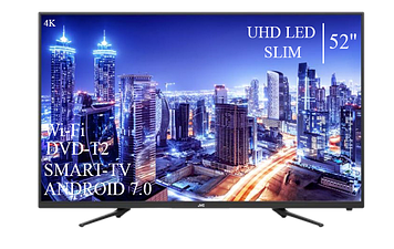 "Телевізор JVC 52""Smart-TV ULTRA HD T2 USB Гарантія 1 РІК"