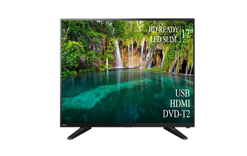 "ТЕЛЕВИЗОР TOSHIBA 17""  HD Ready T2 USB Гарантия 1 ГОД!"