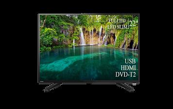 "ТЕЛЕВИЗОР TOSHIBA 22"" FullHD DVB-T2 USB Гарантия 1 ГОД! (1080р)"