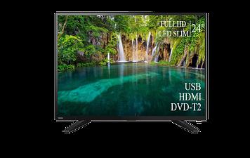 """ТЕЛЕВИЗОР TOSHIBA 24"""" FullHD DVB-T2 USB Гарантия 1 ГОД!"""
