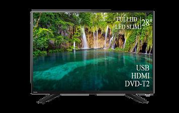 """ТЕЛЕВИЗОР TOSHIBA 28"""" FullHD DVB-T2 USB Гарантия 1 ГОД!"""