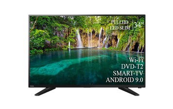 "ТЕЛЕВИЗОР TOSHIBA 34""Smart-TV FullHD T2 USB Гарантия 1 ГОД Android 9.0"