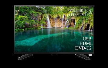 """ТЕЛЕВИЗОР TOSHIBA 42"""" FullHD DVB-T2 USB Гарантия 1 ГОД!"""