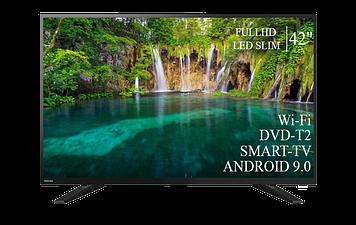 "ТЕЛЕВИЗОР TOSHIBA 42"" Smart-TV FullHD T2 USB Гарантия 1 ГОД Android 9.0"
