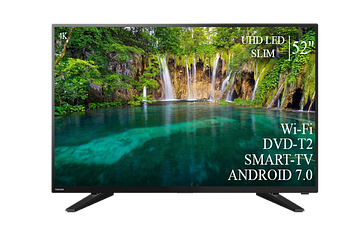 """ТЕЛЕВИЗОР TOSHIBA 52""""Smart-TV ULTRA HD T2 USB Гарантия 1 ГОД"""