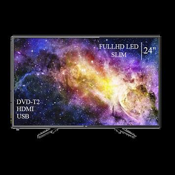 """Телевізор DEX 24"""" FullHD DVB-T2 USB Гарантія 1 РІК!"""