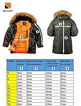 Зимняя мужская куртка аляска Olymp - N-3B, Slim Fit, Color: Black (100% Нейлон), фото 3