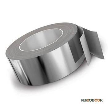 ВТ1-00 / Grade 1 титановая лента 0,5х140мм - 5м