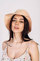 Шляпа слауч FAMO SHL-2034 пудровая 57 (SHL-2034)