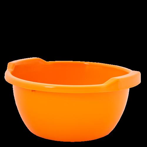 Таз оранжевый 8 литров Алеана