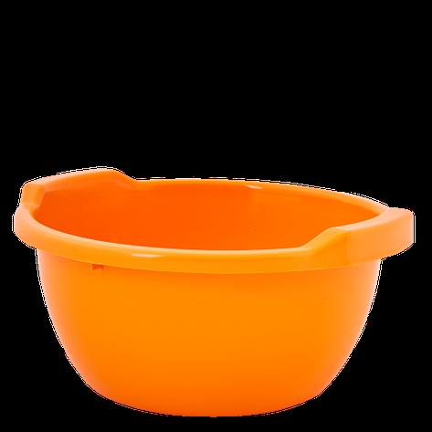 Таз оранжевый 8 литров Алеана, фото 2