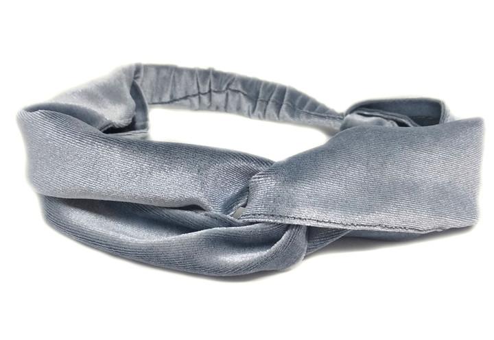 Женская повязка на голову велюровая