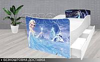 Кровать ХОЛОДНОЕ СЕРДЦЕ КИНДЕР, фото 1