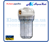 AquaKut Mignon Gusam фильтр колба для котла 2P 5' 1/2'  три выхода (с полифосфатом) HР