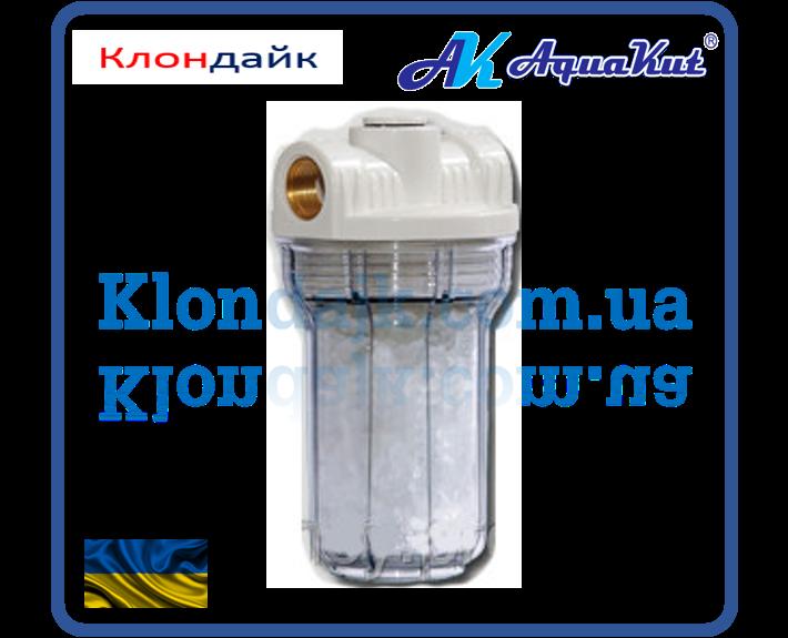 AquaKut Mignon Gusam фильтр колба для котла 2P 5' 1/2'  три выхода (с полифосфатом) HР - Клондайк в Харькове