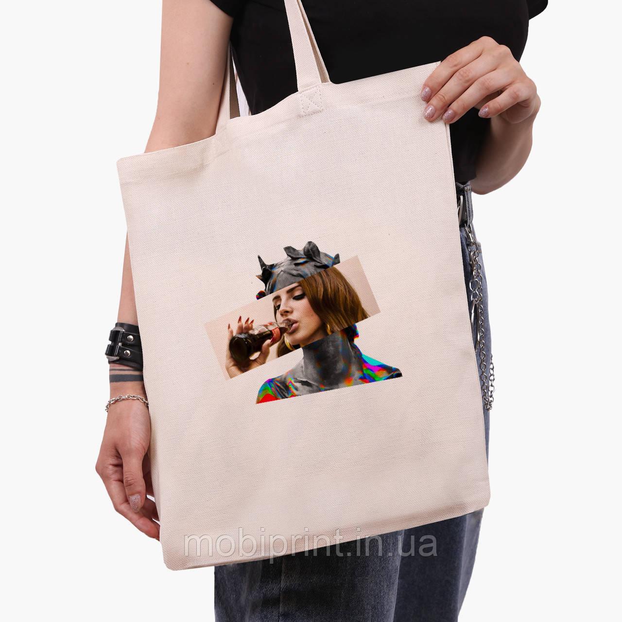 Эко сумка шоппер Лана Дель Рей - Ренессанс (Lana Del Rey - Renaissance) (9227-1204)  экосумка шопер 41*35 см