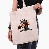 Эко сумка шоппер Лана Дель Рей - Ренессанс (Lana Del Rey - Renaissance) (9227-1204)  экосумка шопер 41*35 см , фото 1