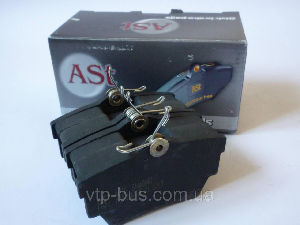 Тормозные колодки задние на Renault Trafic / Opel Vivaro с 2001...  AVTOSTANDART (Украина), AST 980