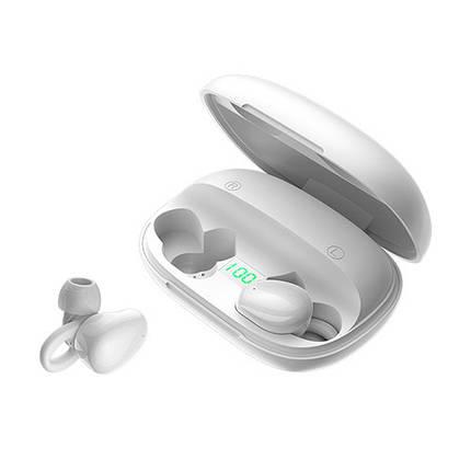 Беспроводные Bluetooth наушники Joyroom JR-TL2 large capacity digital display TWS White, фото 2