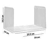 Висувний органайзер для холодильника 14(23)*14*14.5 см, фото 3
