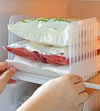 Висувний органайзер для холодильника 14(23)*14*14.5 см, фото 6