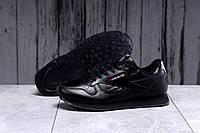 Кроссовки мужские кожаные Reebok Classic (Рибок Классик) черные (р 43-45)