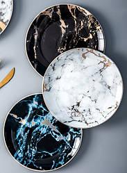 Мраморная тарелка. Модель RD-5688