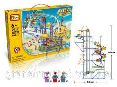 Электромеханический конструктор LoZ Amusement Park Game Machine 902 Детали
