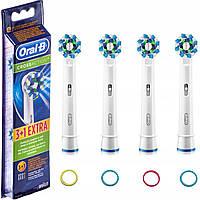 Змінні насадки для електричної зубної щітки ORAL-B EB50 CrossAction 4шт