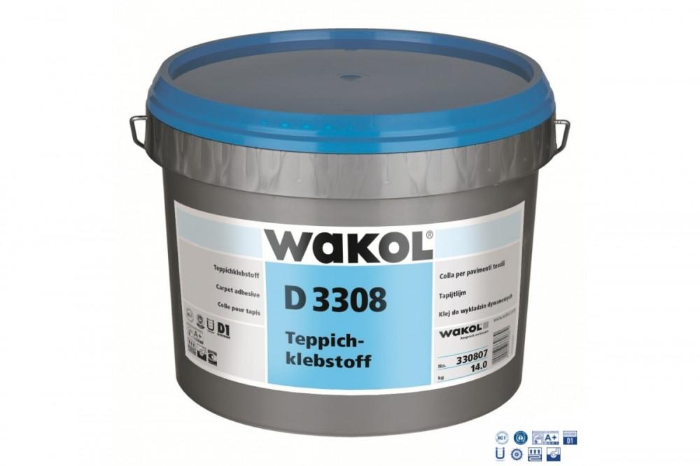 Клей для ковровых покрытий Wakol D3308 14кг (Германия)