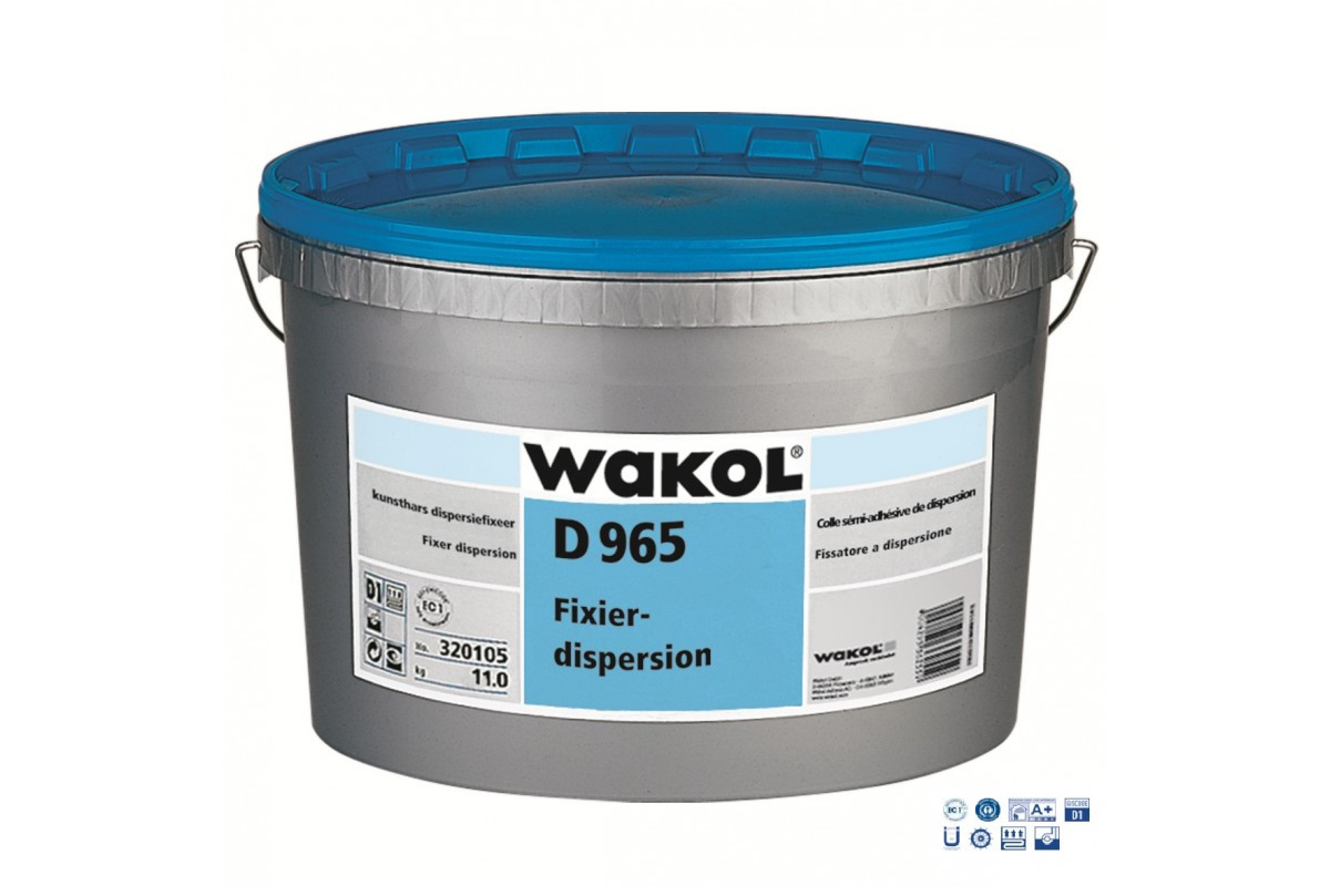 Фіксатор для килимової плитки Wakol D965 10кг (Німеччина)