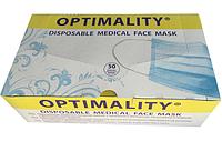 Одноразовые маски OPTIMALITY® (голубые)