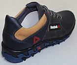 Кросівки шкіряні підліткові на шнурках від виробника модель ІВ-226, фото 5