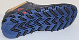 Кросівки шкіряні підліткові на шнурках від виробника модель ІВ-226, фото 6
