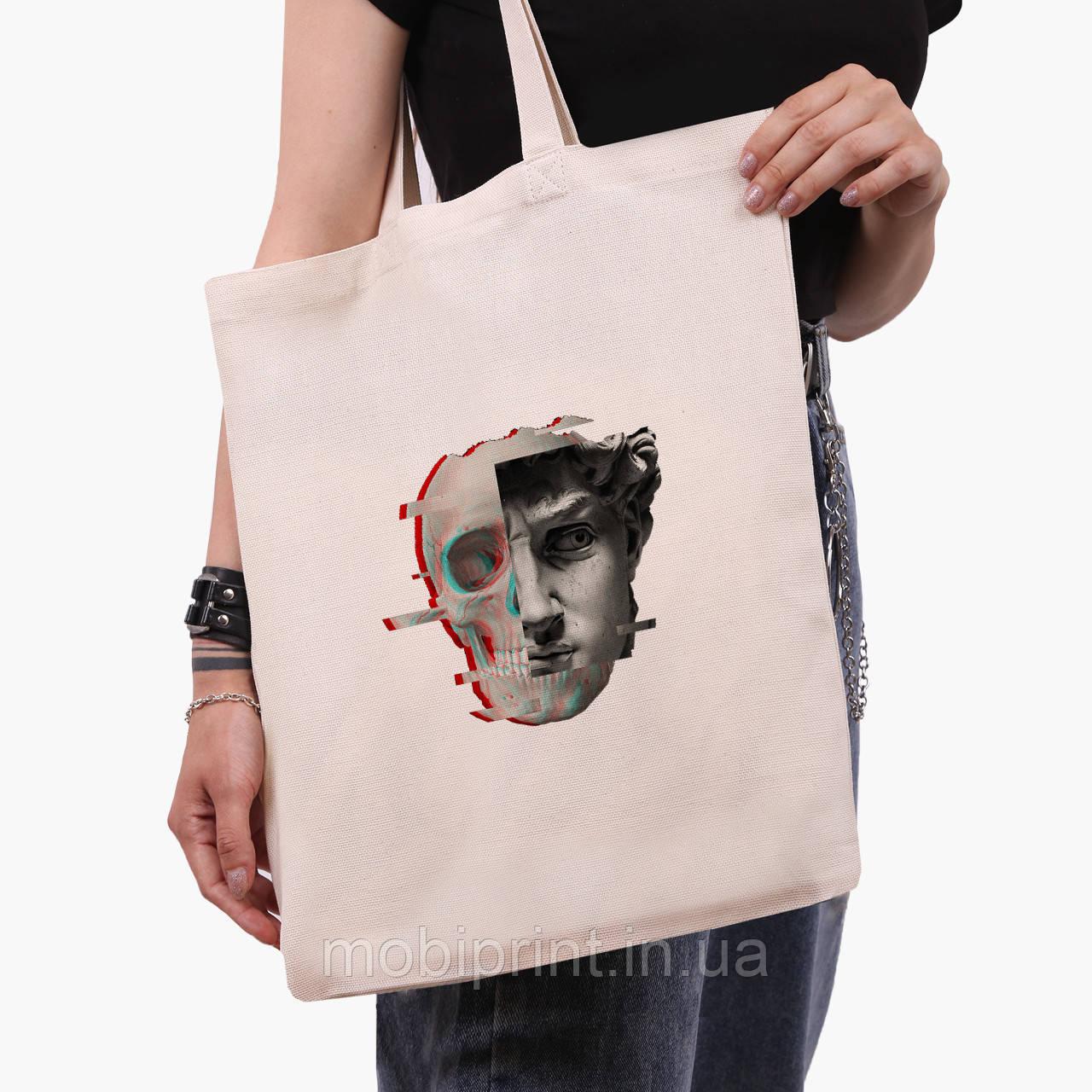 Эко сумка шоппер Ренессанс-Давид (David Renaissance) (9227-1585)  экосумка шопер 41*35 см