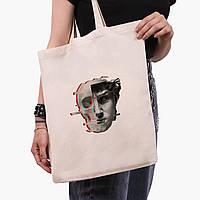 Эко сумка шоппер Ренессанс-Давид (David Renaissance) (9227-1585)  экосумка шопер 41*35 см , фото 1