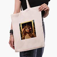Еко сумка шоппер Ренесанс-Лана дель Рей (Lana Del Rey) (9227-1590) екосумка шопер 41*35 см, фото 1