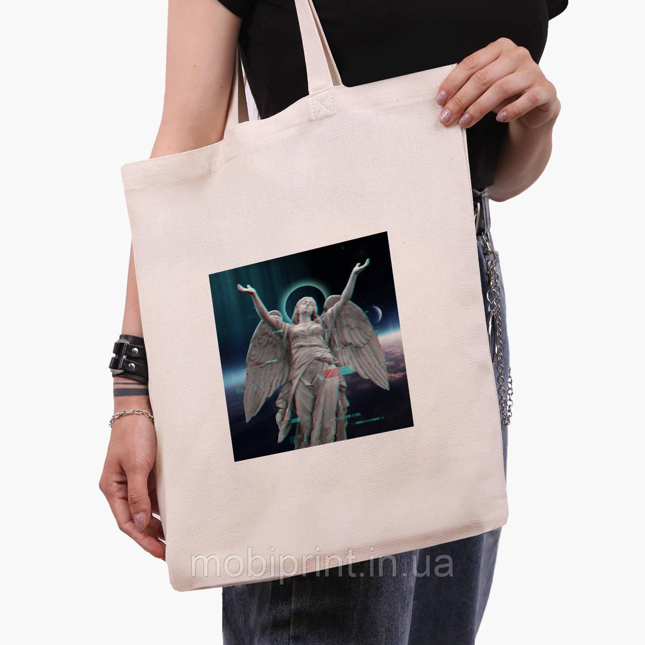 Эко сумка шоппер Ренессанс-Ангел (Angel) (9227-1592)  экосумка шопер 41*35 см