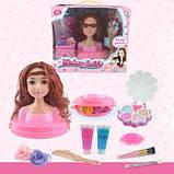 Голова-манекен куклы для причесок и макияжа с аксессуарами (704148), фото 2