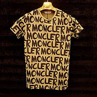 Мужская футболка Moncler размер S, M распродажа реплика