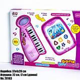 Детский музыкальный набор Пианино с телефоном 20163, фото 2