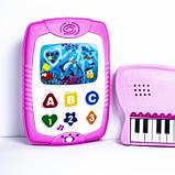 Детский музыкальный набор Пианино с телефоном 20163, фото 3