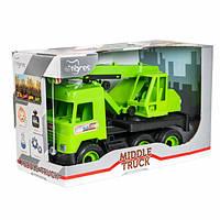 Машинка игрушечная Кран Middle Truck Tigres 39483