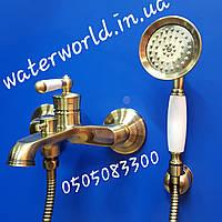 Смеситель для ванны Mixxus Vintage Bronze 009 EURO