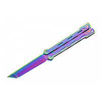 Нож бабочка или балисонг. Продажа ножей. Качественная подарочная бабочка для трюков. Не ХО. Складной ножик.