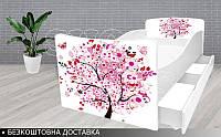 Кровать ЦВЕТОЧНОЕ ДЕРЕВО КИНДЕР, фото 1