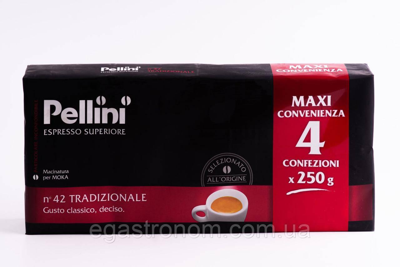 Кава Пеліні Pellini convienze 250g 20шт/ящ (Код : 00-00000316)